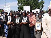 widows protest, N'Djamena