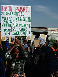 protest, Chad, 2005