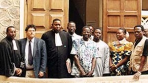 plaintiffs, Dakar courthouse