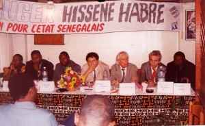 press conference Senegal 2000