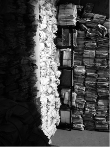 Stacks of documents / AHPN