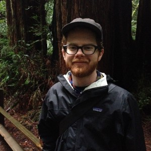 Phil Neff frolicking in Muir Woods
