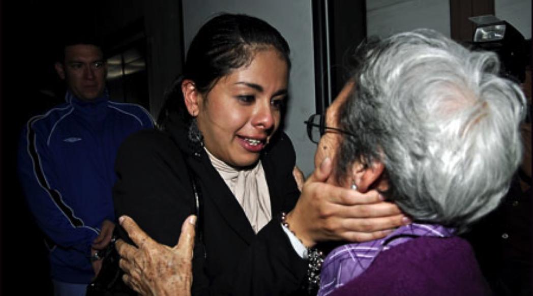 Alejandra García and Doña Amelia García