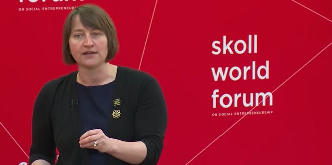 Megan Price Skoll World Forum 2018